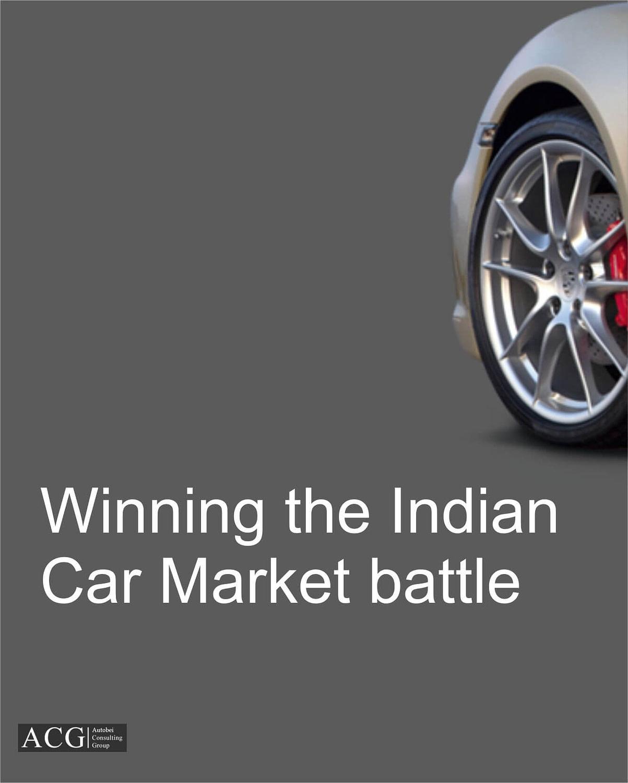 Winning the Indian Car Market battle