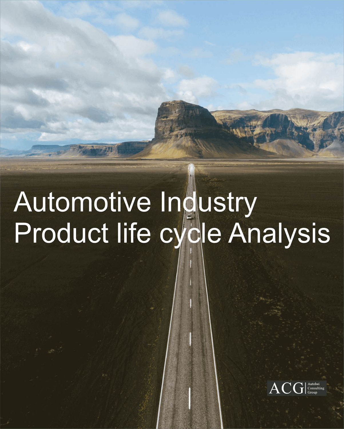 Automotive Industry Product life cycle Analysis