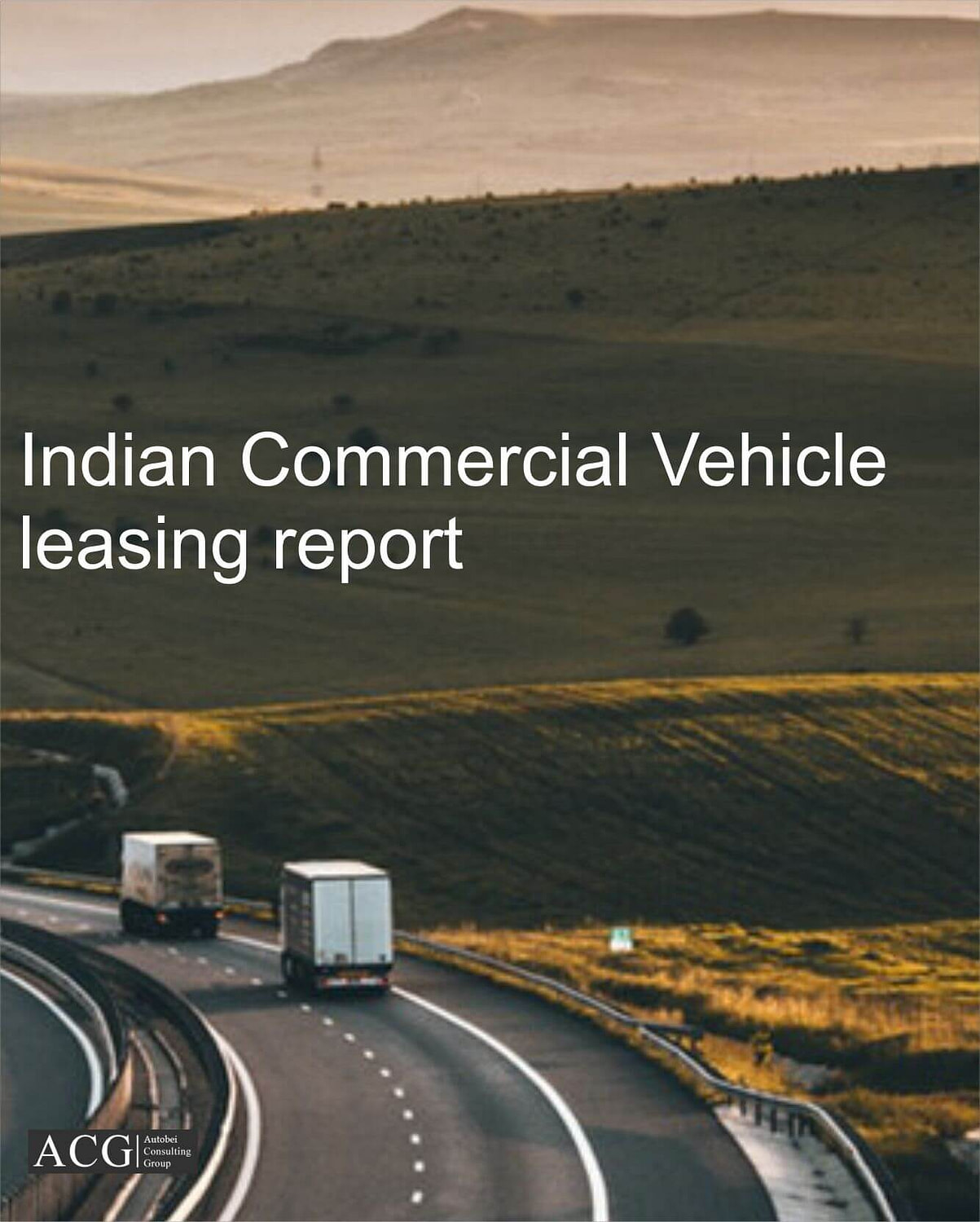 Indian Commercial Vehicle leasing report