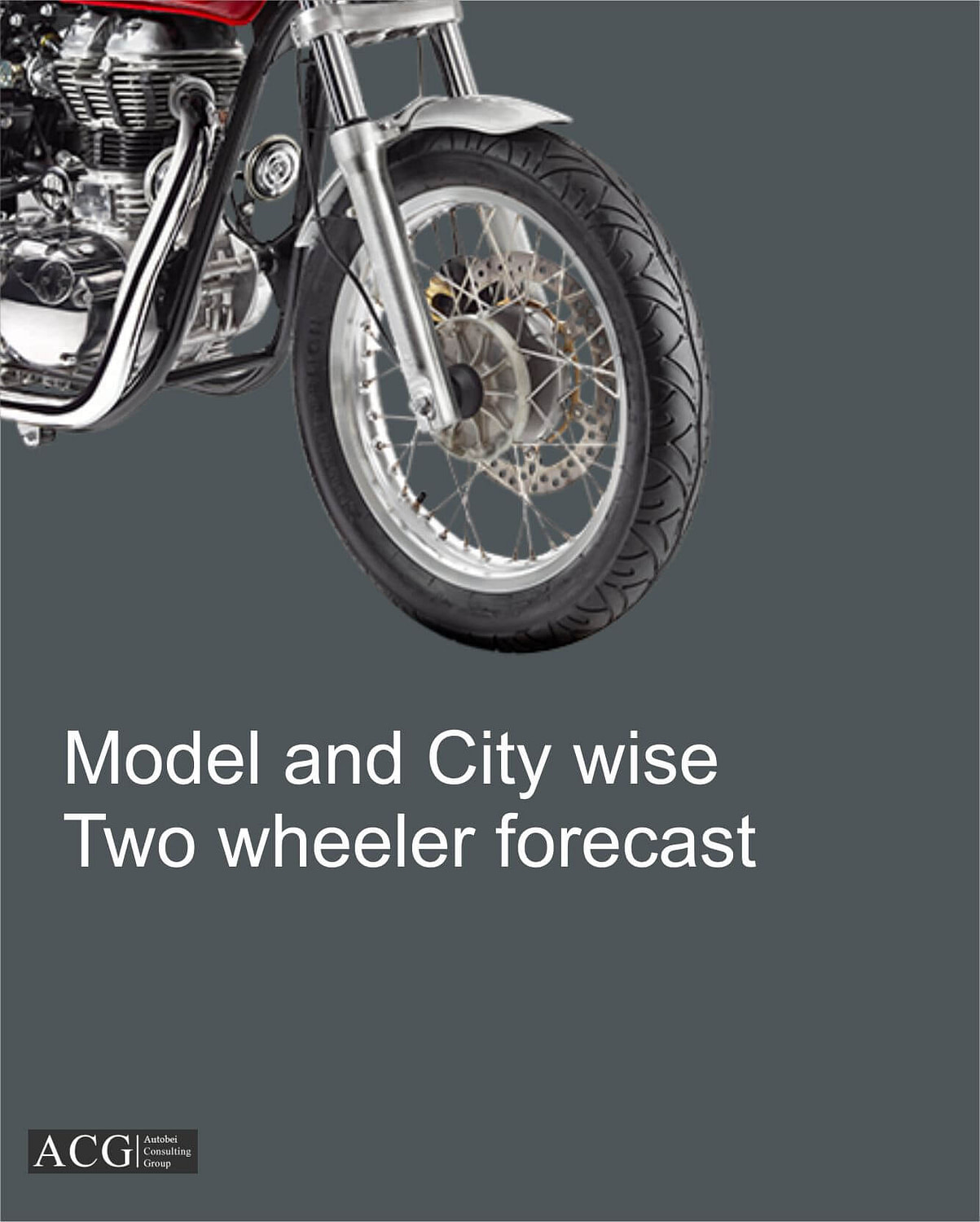 Model and City wise Two wheeler forecast