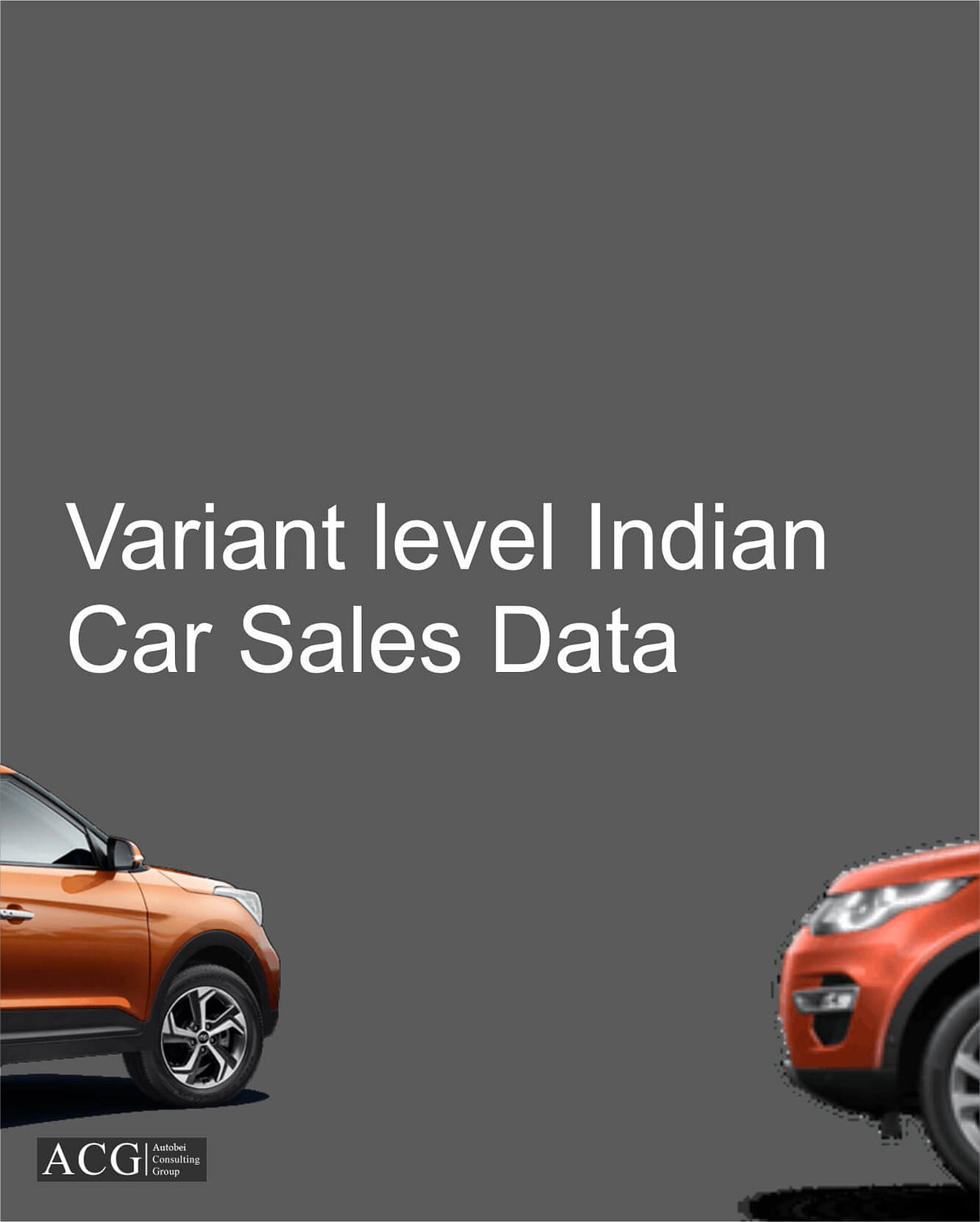 Variant level Indian car sales data