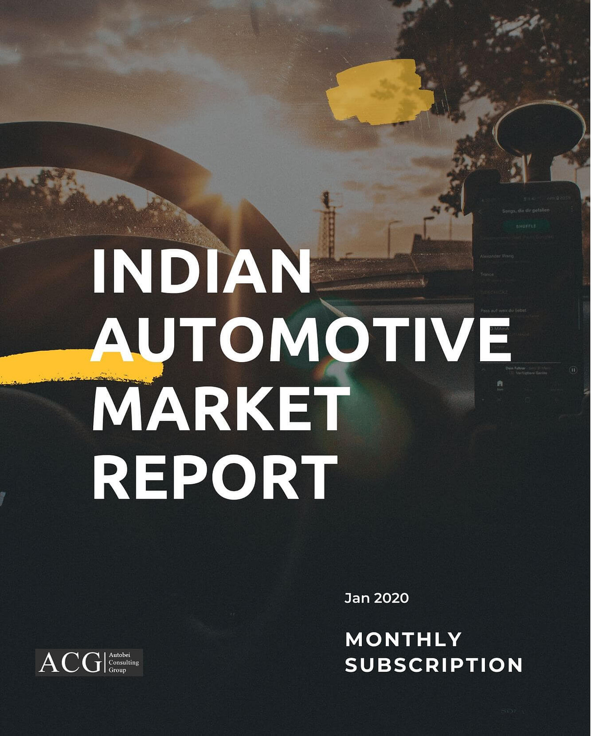 Indian Automotive market report Jan 2020