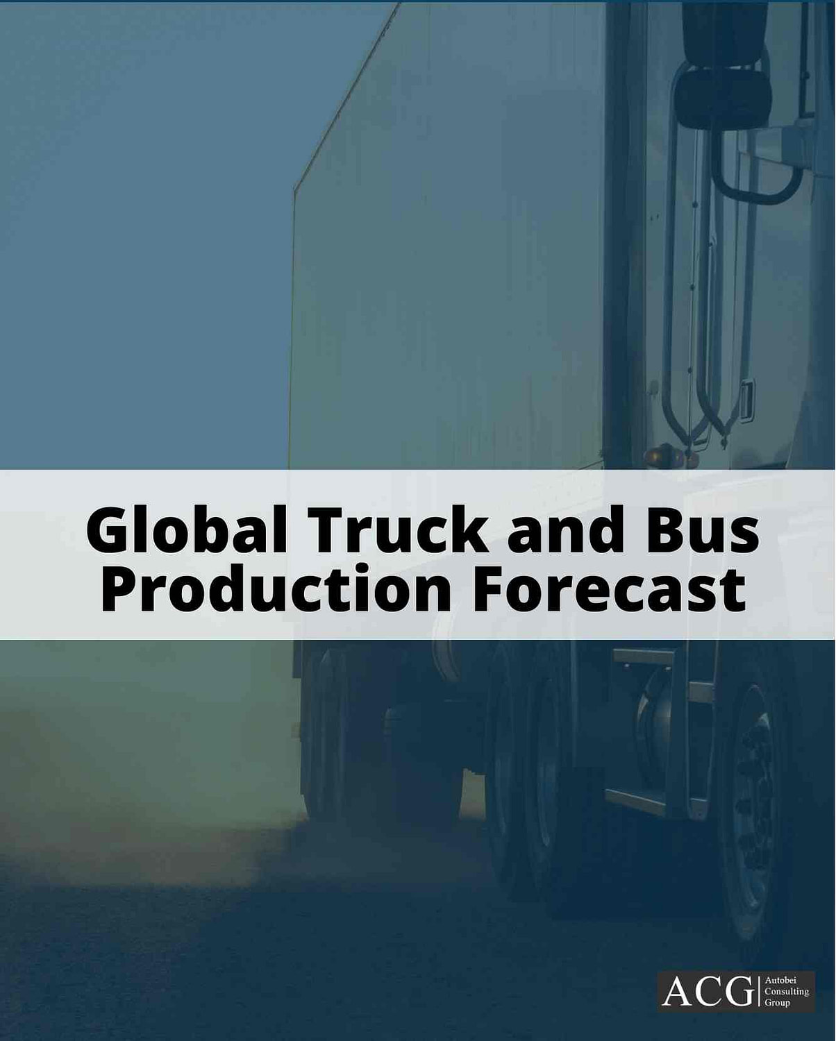 Global Commercial Vehicle Production forecast