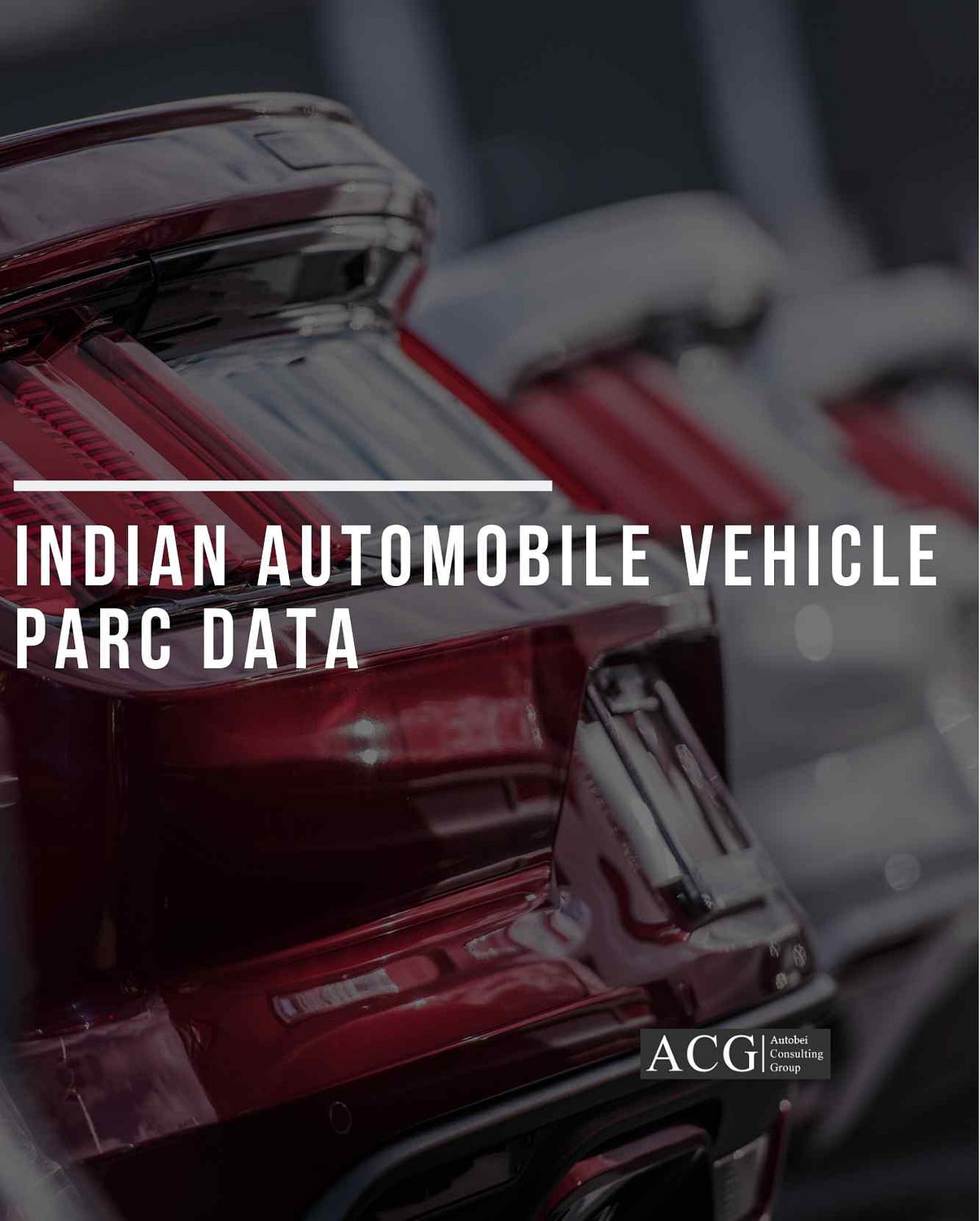 Indian Automobile Vehicle PARC Data