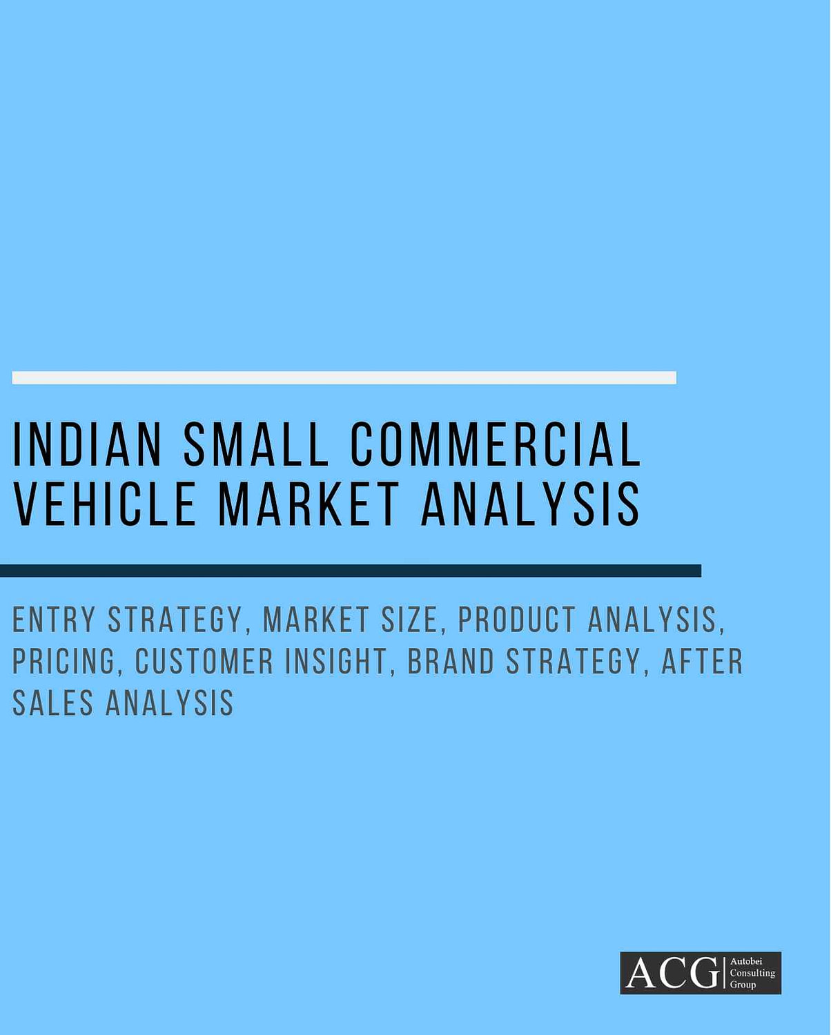 Indian Small Commercial Vehicle Market Analysis and Forecast