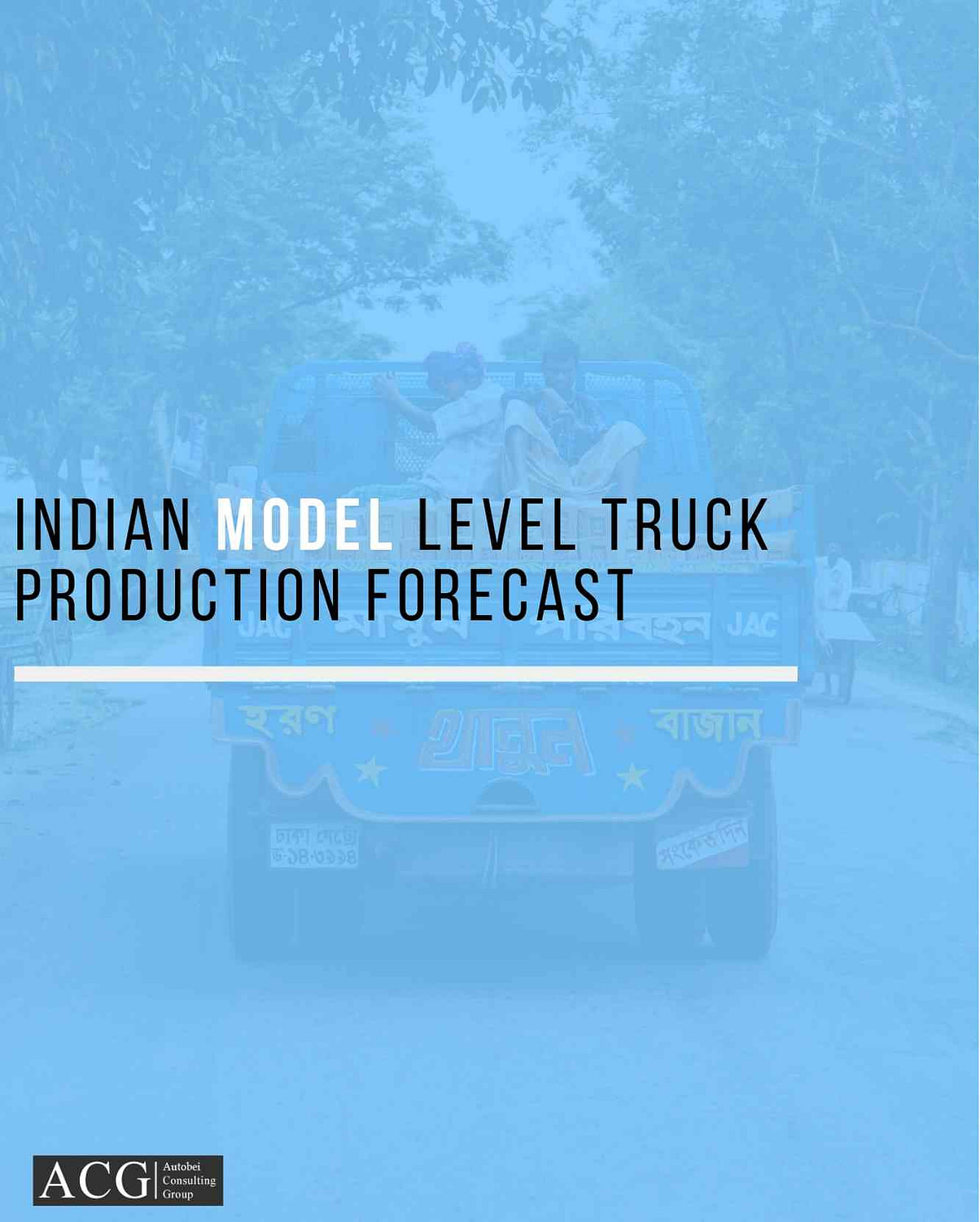 Indian Truck and Bus Model wise Production Forecast