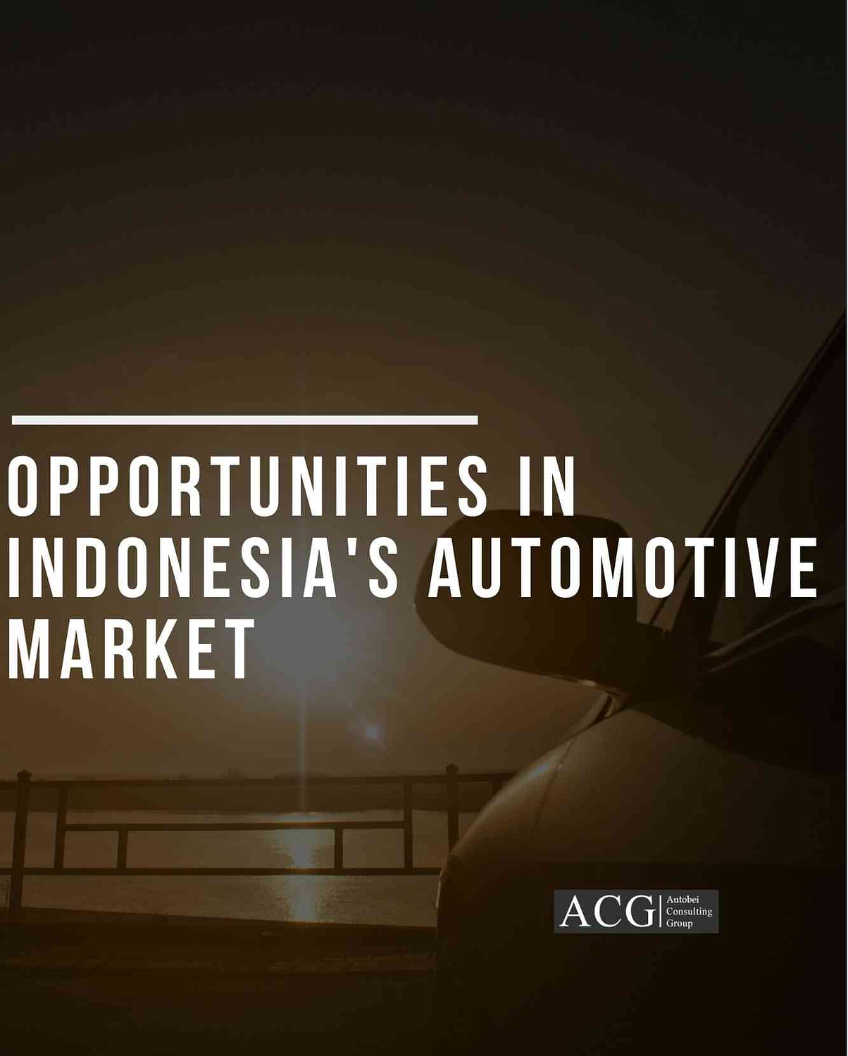 Opportunities in Indonesia's Automotive Market