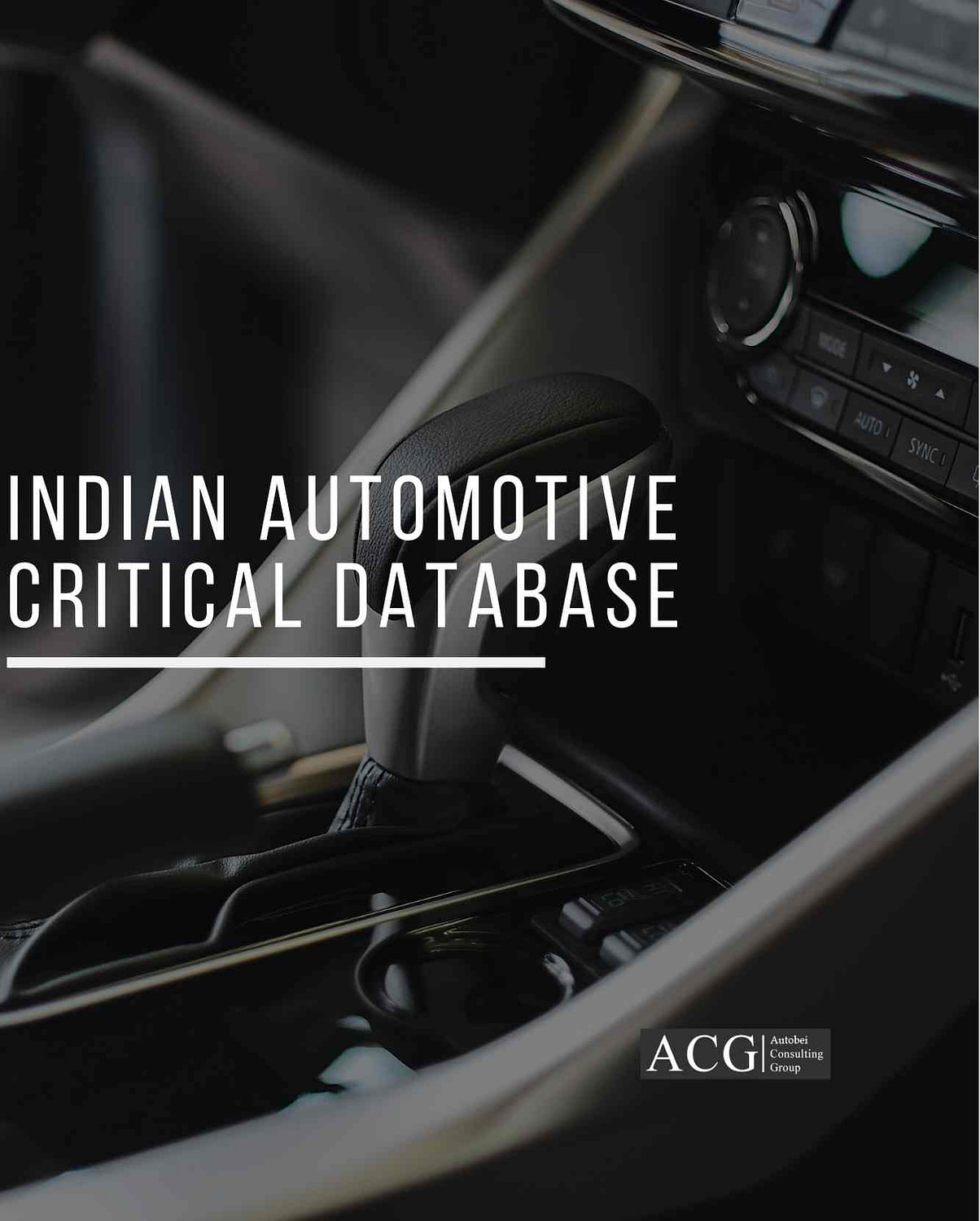 Indian Automotive Critical Database