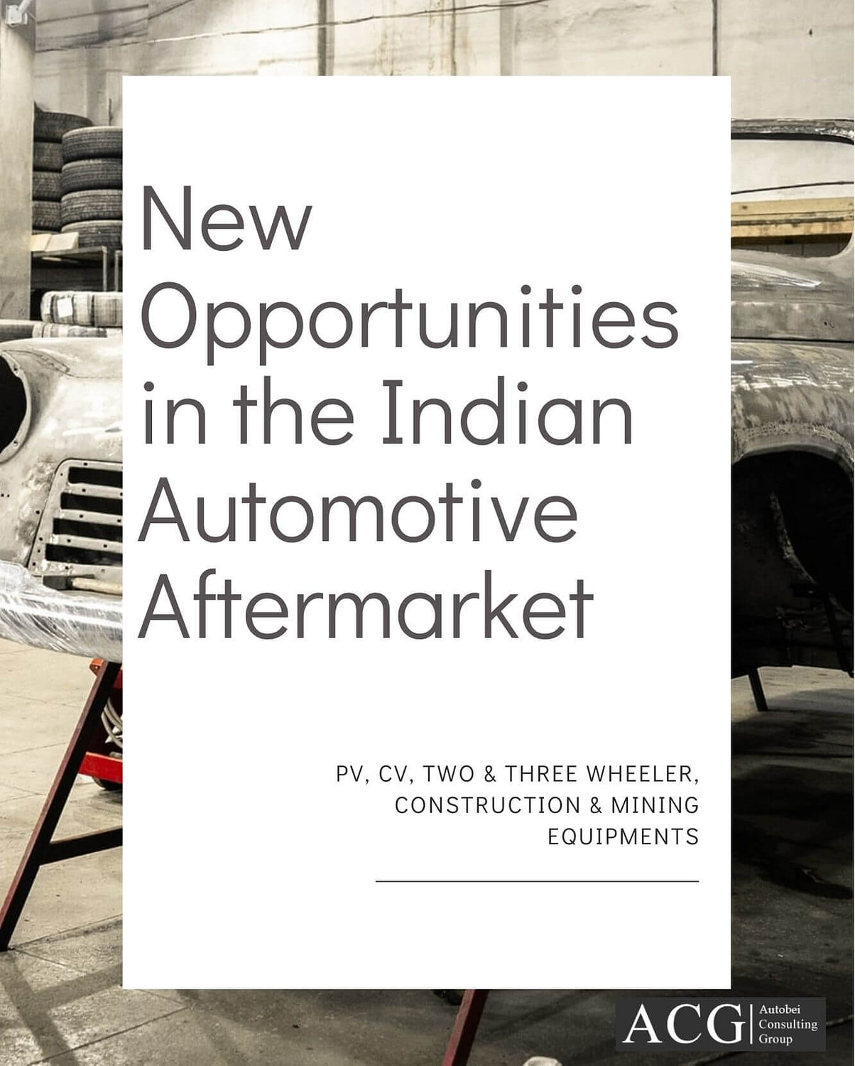 New Opportunities in the Indian Automotive Aftermarket