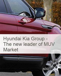 Hyundai Kia Group - The new leader of MUV Market