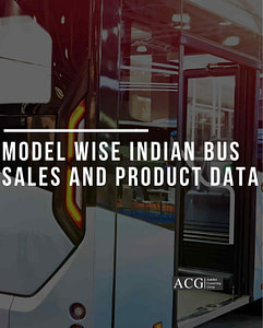 Indian Electric Bus Product Planning data