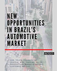 New Opportunities in Brazil's Automotive Market