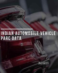Indian Automobile Vehicle PARC Data