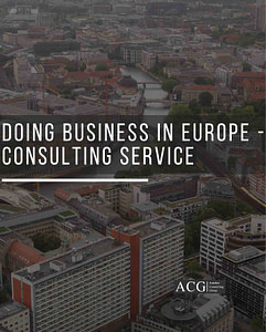 Doing Business in Europe - Consulting Service