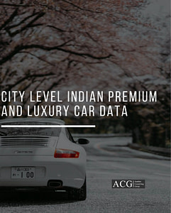 City wise Indian Luxury Car Data