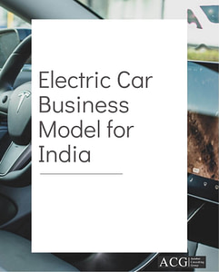 Electric Car Business Model for India
