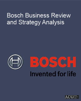 Bosch Cost Saving Strategy Analysis - Global Markets