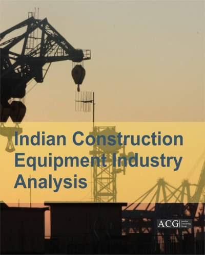 Indian Construction Equipment Industry Report