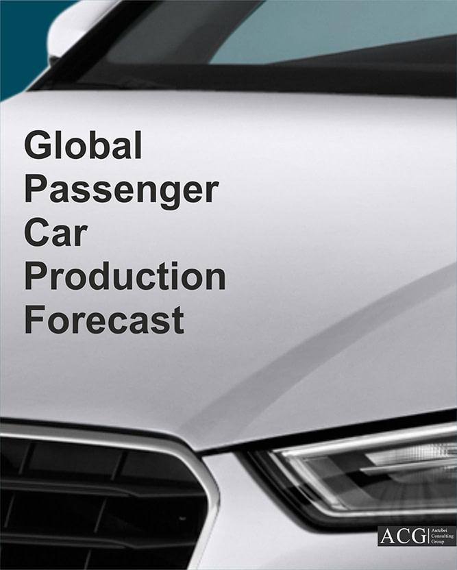 Global passenger car production forecast