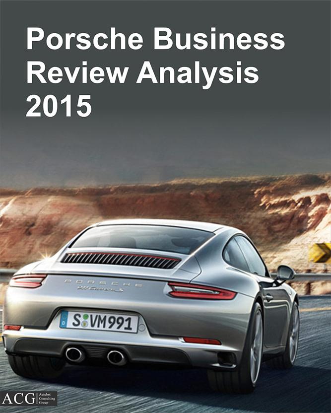 Porsche Business Review 2015