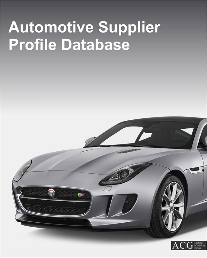 Global Automotive Supplier Study