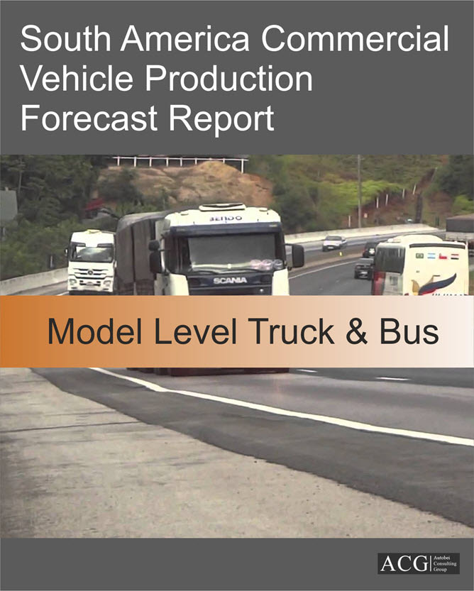 South America Commercial Vehicle Production Forecast