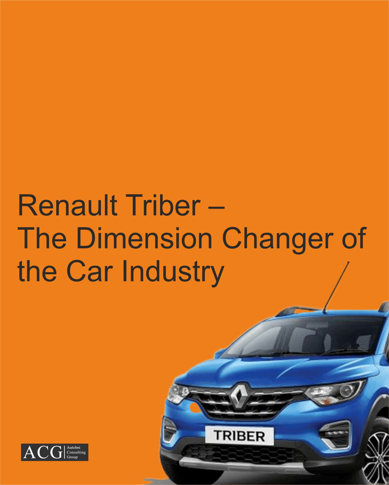 The Dimension Changer Of The Car Industry
